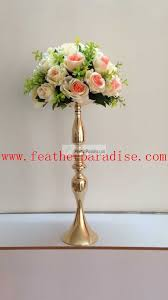 flower stand wedding feather centerpieces wholesale floral stand wedding