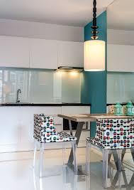 credence en verre tremp pour cuisine credence cuisine verre trempe 8 de en laque blanc perle cr dence