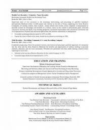 Example Business Resume by Sample Resume Recruiter Haadyaooverbayresort Com