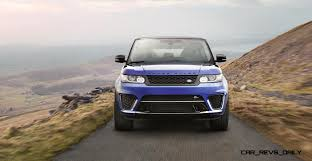 modified 2015 range rover 4 5s 162mph 2015 range rover sport svr is officially quickest