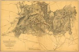 Map Of Usa During Civil War by Places In Civil War History The First Battle Of Bull Run Worlds
