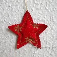 free crafts fabric tree ornament