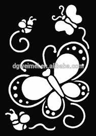 small glitter tattoo stencil woman female kids cute drawing