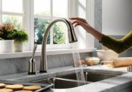 Touch Free Faucets Kitchen with Hands Free Touchless Kitchen Faucet Kitchen Amp Bath Ideas Touch