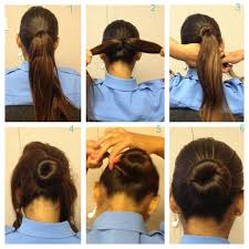 haircuts appropriate for navy women not a fan of the sock bun try this alternative to the traditional