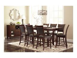 ashley signature design collenburg dining room server with wine