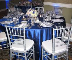 Silver Wedding Centerpieces by Blue And Silver Wedding Cakes Family Wanted To Incorporate The