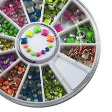 popular neon color nail designs buy cheap neon color nail designs
