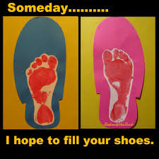 someday i hope to fill your shoes happy father u0027s day cute idea
