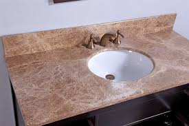 Bathroom Vanities With Tops For Cheap by Legion 48 Inch Contemporary Bathroom Vanity Cherry Brown Finish
