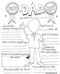 free printable father u0027s coloring sheet print fathersday