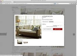 Pottery Barn E Commerce Product List Usability Avoid U0027quick View U0027 Overlays Articles