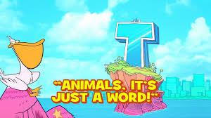 teen titans animals it u0027s just a word teen titans go wiki fandom powered