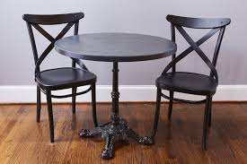 Zinc Bistro Table Europe2you Bistro Table Large