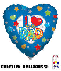 fathers day balloons s day foil balloons creative balloons mfg inc