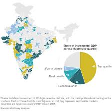 India Geography Map by Understanding India U0027s Economic Geography Mckinsey U0026 Company