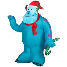 amazon com gemmy airblown inflatable christmas disney monsters