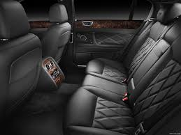 black bentley interior bentley continental flying spur speed interior rear seats