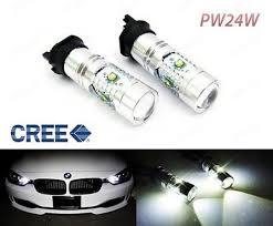 bmw f30 fog light bulb white pw24w cree led bulb error free daytime running light drl bmw 3