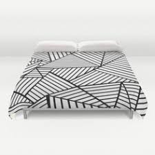 kerplunk black and white duvet cover by project m s white