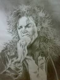 sketching of michael jackson mj portrait drawing picture making of