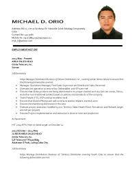 sle resume for part time job in jollibee logo update resume mdorio