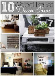 Wood Pallet Decor Ideas
