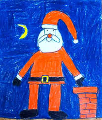 art projects for kids santa claus drawing drawing projects