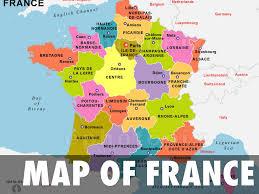 Map Of France With Major Cities by France Vaughn 3 By Gillian Vaughn