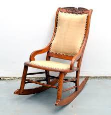 vintage globe parlor rocking chair ebth