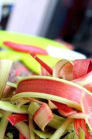 cuisine rhubarbe avec quoi marier de la rhubarbe créations cuisine cook