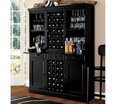 Pottery Barn Wine Racks Modular Bar System With 1 Wine Hutch Amp 2 Open Hutch Pottery Barn