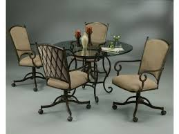 dinette table and chairs with casters chairs on wheels at the best prices and best selection with a great