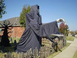 large grim reaper lawn decoration pictures photos and images for