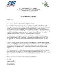 Invitation Letter Us Visa sle invitation letter for family visitor visa usa valid sle
