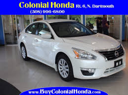nissan altima 2015 on sale 2015 nissan altima 2 5 in solid white for sale in fall river ma