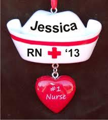 Custom Baby Ornaments Special Nurse Christmas Ornament Nurse Hat Baby Ornaments And