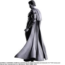 nycc 2016 black white batman superman play arts kai superman