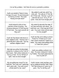area and perimeter math word problem sort by gretchen tringali tpt