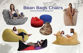 Bean Bag Chairs For Boats Furniture Home Cotton Black Bean Bag Arm Chair Outdoor Bean Bag