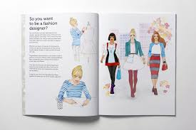 fashion stylist fall winter collection an activity and sticker