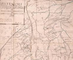 thedas map map showing the presumed headwaters of the das velhas river and