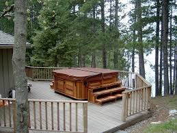Backyard Flooring Options by Tub Deck Designs Ideas Outdoor Flooring Options Patio And