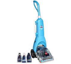 bissell quicksteamer pro deep clean carpet cleaner w 3 formulas