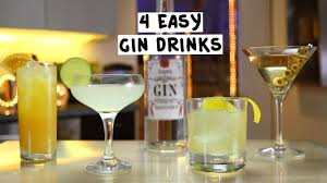 four easy gin drinks youtube