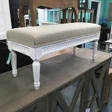 upholstered bench nadeau tampa