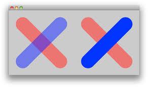 java opaque color stack overflow