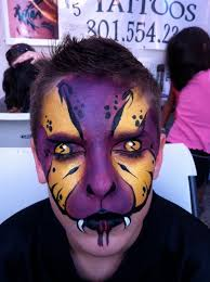halloween salt lake city snake face paint boy parties face painting pinterest face