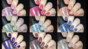 opi iceland collection live swatch review youtube