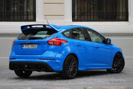 2016 ford focus rs first drive autoblog